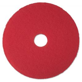 """3M 5100 16"""" Red Buffer Pads (5 Pack)"""