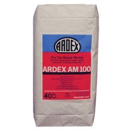 Ardex AM 100 Rapid Set Pre-Tile Smoothing & Ramping Mortar, 40 lb. Bag
