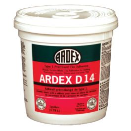 Ardex D 14 Type 1 Premixed Tile Adhesive, Gallon