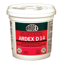 Ardex D 14 Type 1 Premixed Tile Adhesive, 3.5 Gal. Pail
