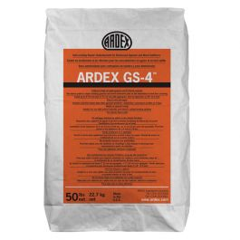 Ardex GS-4 Self-Leveling Underlayment for Gypsum & Wood Subfloors, 50 lb. Bag