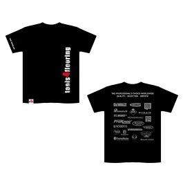 T4F Black Short Sleeve Logo T-Shirt