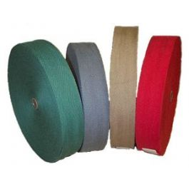 "NC 1-1/4"" Cotton Carpet Binding Tape, 72 yd. Roll"