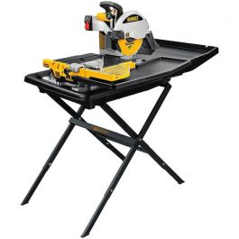 "DeWalt D24000S Heavy Duty 10"" Wet Tile Saw w/Stand"