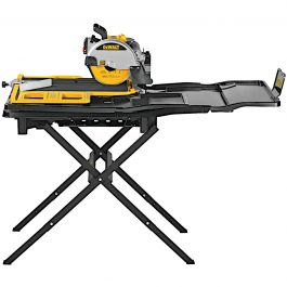"DeWalt D36000S 10"" High Capacity Wet Tile Saw w/Stand"