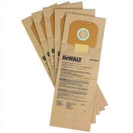 DeWalt DWV9401 Paper Bags for DWV012 Dust Extractor (5 Pack)