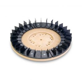 "Diamabrush 16"" Concrete Prep Plus w/NP-9200 Clutch Plate & Riser"