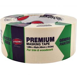 "Dynamic 99828 2"" (48mm) Tan Premium Masking Tape"