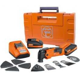 "Fein MultiMaster AFMM 18V Cordless ""QuickStart"" Kit w/Case"