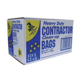 Five Star Heavy Duty Contractor Clean-Up Bags (20/pkg)