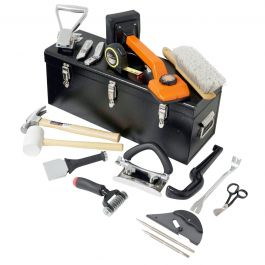 Tego T04-1000 Carpet Installation Kit w/Metal Toolbox & Seam Weight