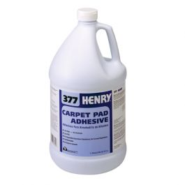 Henry 377 Carpet Pad Adhesive, Gallon