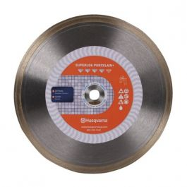 "Husqvarna Superlok Porcelain + 10"" High Production Diamond Tile Blade"