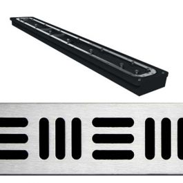 """Noble Cross Hatch ABS FreeStyle Linear Drains (24"""" - 60"""")"""