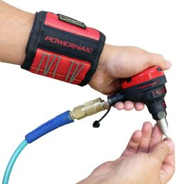 Powernail Power Palm Pneumatic Cleat Nailer w/FREE Magnetic Wristband