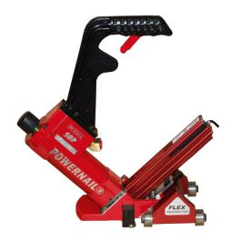 Powernail 50P Flex Power Roller Pneumatic 18 Ga. Cleat Nailer