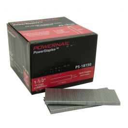 "Powernail PS-18150 1-1/2"" Underlayment Staples (5,000/box)"