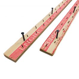 "Premier PFS-4421 1"" Extra Wide Wood Tack Strip (400 LF/Box)"