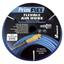 "Primatech A201 1/4"" x 50' Air Hose w/Quick Fitting"
