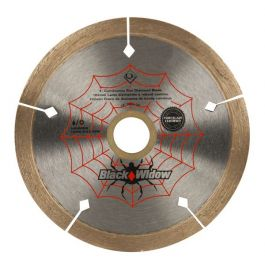 "QEP 6-4008BW Black Widow 4"" Diamond Blade"
