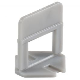 "Raimondi 3/16"" Grey Tile Leveling Clips (2,000/Box)"