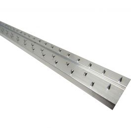 "Roberts HS-722 1"" Aluminum Carpet Tack Strip (40 LF)"