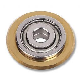 "Rubi 18912 22mm (7/8"") Gold Scoring Wheel"