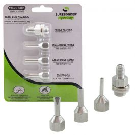 Surebonder 6003 Glue Gun Nozzle Assortment (3 Pack)