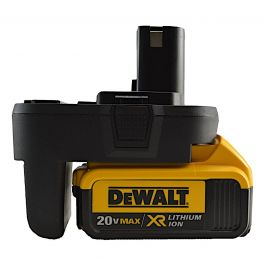 Surebonder DEW-20V Ryobi to DeWalt Battery Adapter