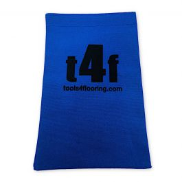 T4F Blue Nail Bag w/Velcro Closure