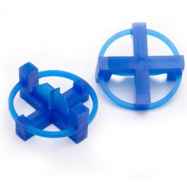 "Tavy 3/16"" Blue Tile Spacers (500/box)"