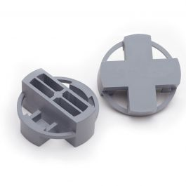 """Tavy 3/8"""" Gray Tile Spacers (400/box)"""