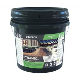 Taylor Dynamic 4 Gal. Resilient & Carpet Flooring Adhesive