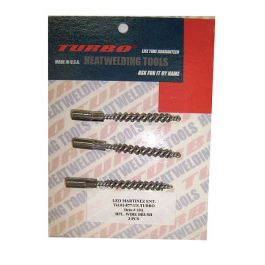 TURBO #10A Replacement Brushes (3/pkg)