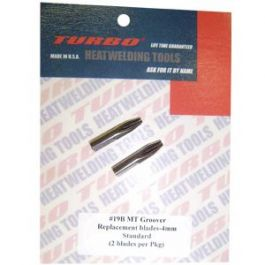 TURBO #19B MT Groover 4mm Replacement Blades (2/pkg)