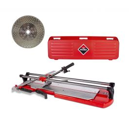 "Rubi TX-MAX Professional Tile Cutters w/Case (28"" - 49"") & FREE 2-in-1 Blade"