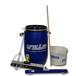 Uzin Mixing Drum Kit w/Leveling Tools