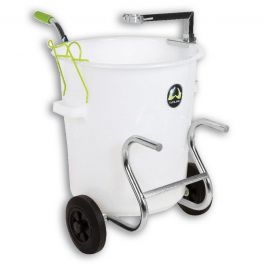 Wolff 20 Gallon Mixing Drum w/Cart