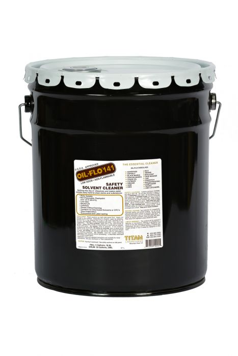 Oil Flo 141 Safety Solvent Cleaner 5 Gallon Pail