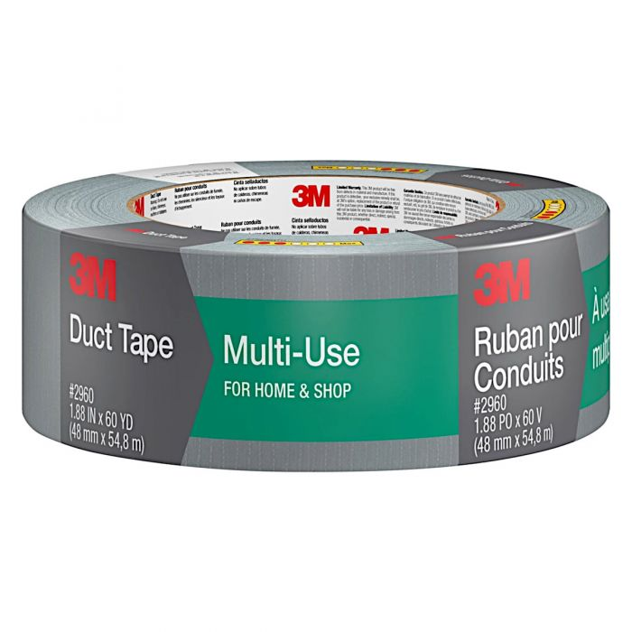 3M 2960-A Multi-Use Duct Tape, 1.88
