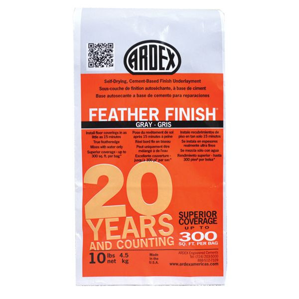 Ardex Feather Finish (Gray), 10 lb. Bag