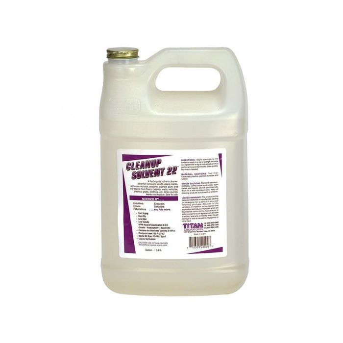 Cleanup Solvent 22 Adhesive Remover Gallon Jug