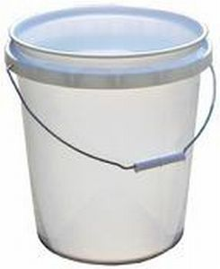 Encore Plastics 50640 5 Gallon White Industrial Pail
