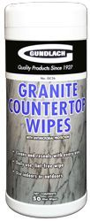 Gundlach GC26 Granite Countertop Wipes (50/pk)