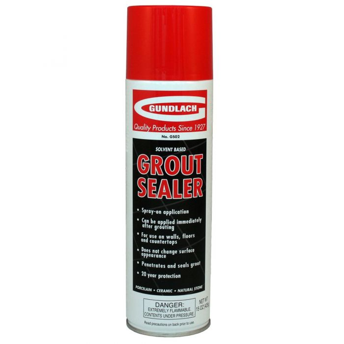 Gundlach GS02 Spray-On Grout Sealer, 15 oz.