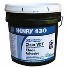 Henry 430 ClearPro VCT Floor Adhesive, Gallon