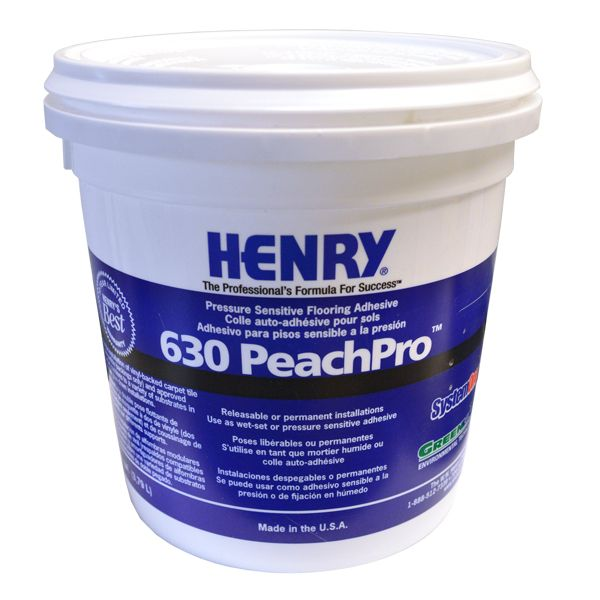Henry 630 PeachPro Pressure Sensitive Adhesive, Gallon