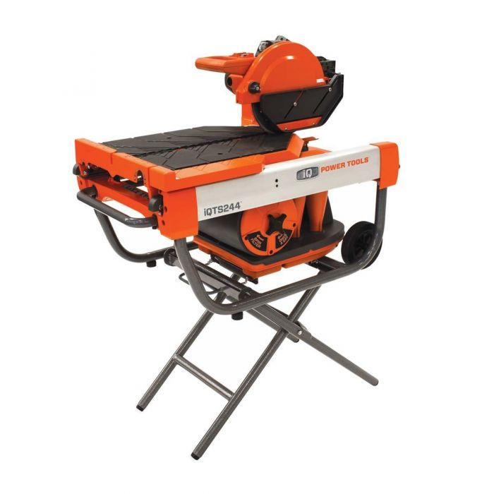 iQTS244 Dry-Cut Dustless Tile Saw w/Stand