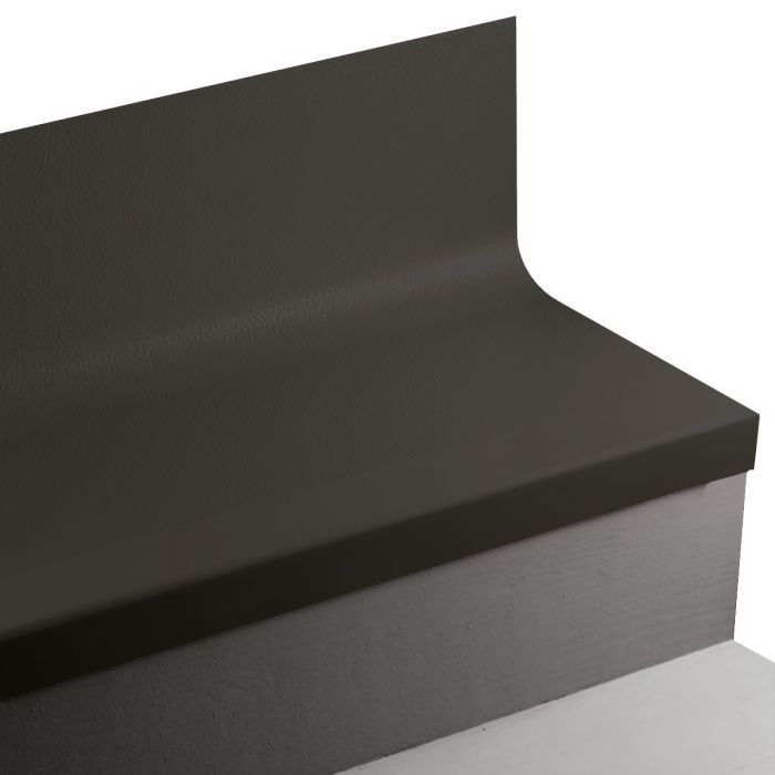 Johnsonite HNTR Hammered Angle Fit Rubber Stair Treads w/Risers