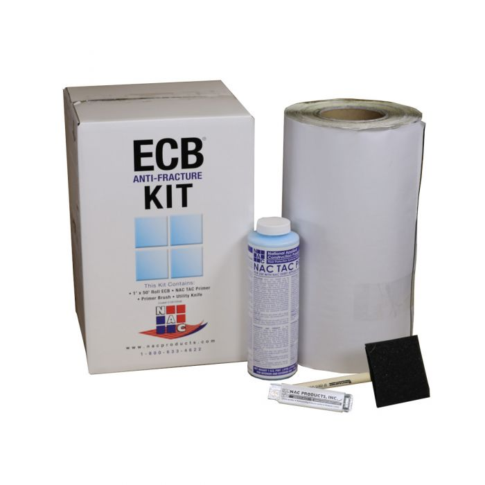 NAC ECB Crack Isolation Membrane Kit (50 SF/Roll)